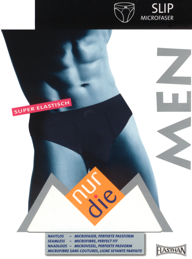 Nur Die Men's Seamless Microfibre Briefs